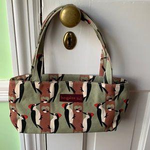 Bungalow 360 Woodpecker Cotton Shoulder Bag